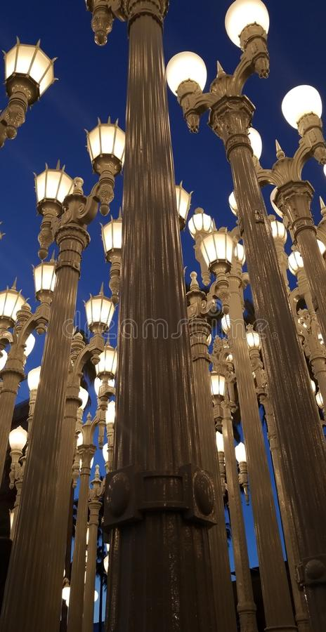 Luzes de Los Angeles fotos de stock royalty free