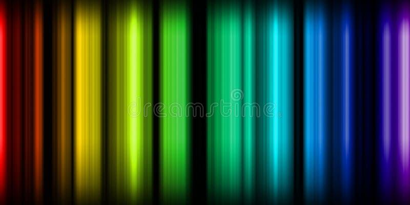 Luzes de néon ilustração royalty free