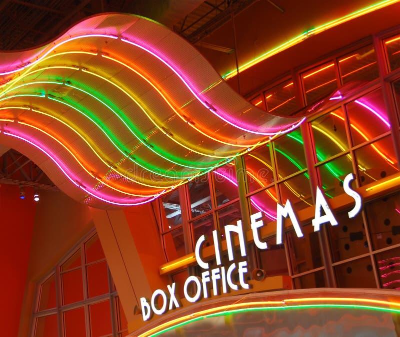 Luzes de néon coloridas imagem de stock royalty free