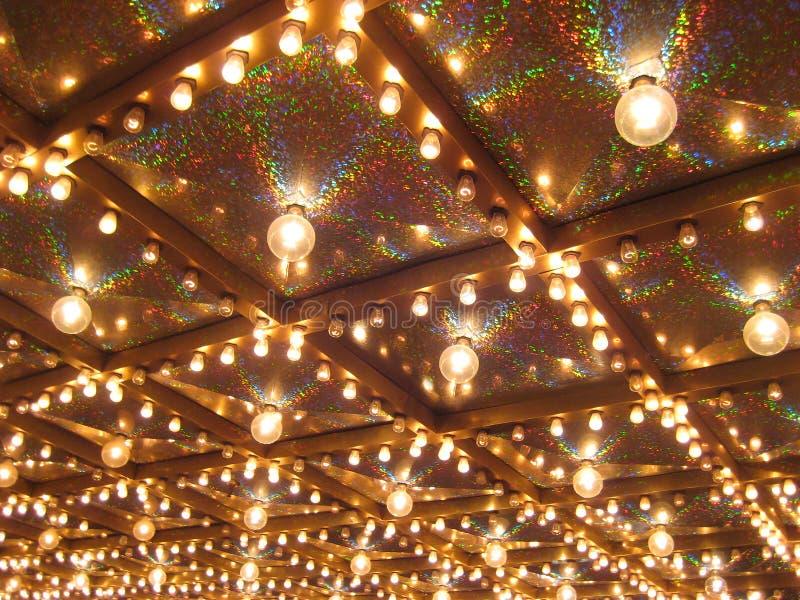 Luzes de néon de Las Vegas fotografia de stock royalty free