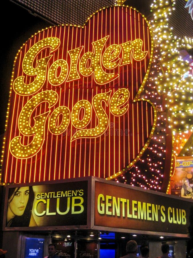 Luzes de néon na rua de Fremont, las foto de stock royalty free
