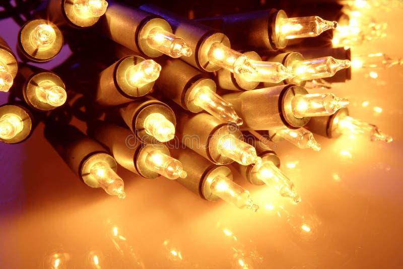 Luzes de Natal imagens de stock royalty free