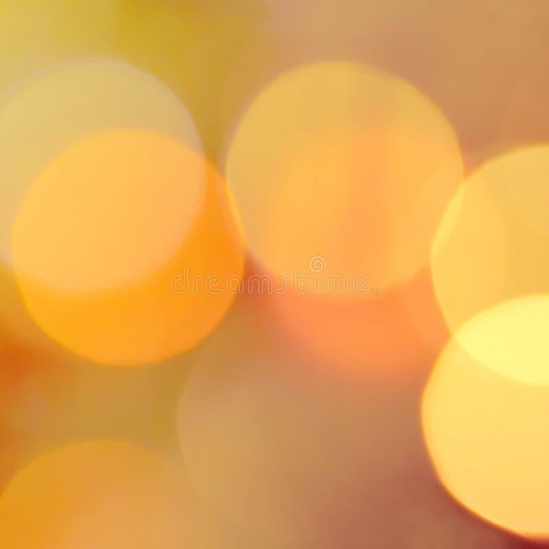 Luzes de Natal do detalhe fotografia de stock