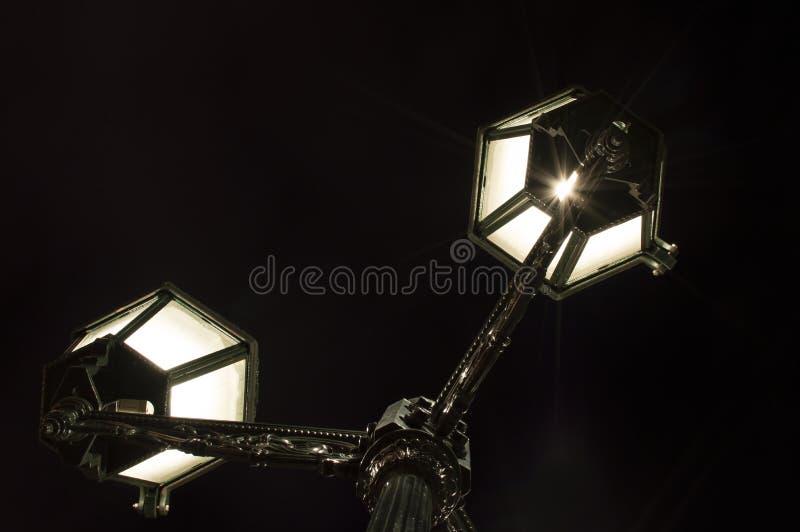 Luzes de rua fotografia de stock royalty free