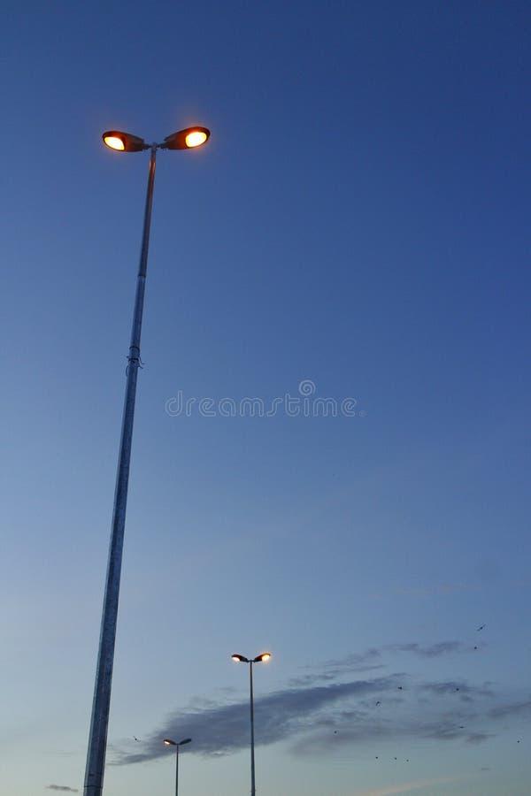 Luzes de rua foto de stock