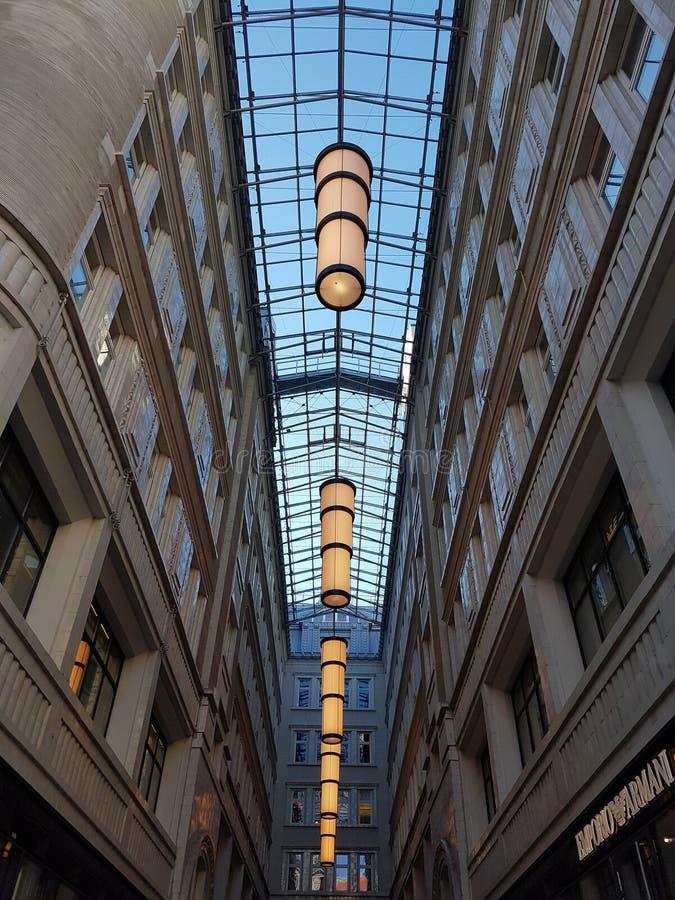Luzes de Viena foto de stock royalty free