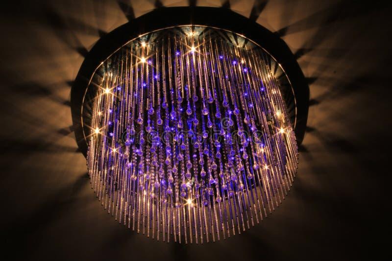 Luzes do candelabro foto de stock