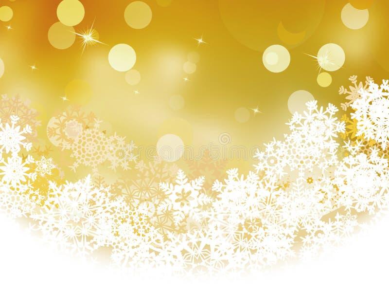 Luzes do defocus do feriado do Natal. EPS 8 ilustração royalty free
