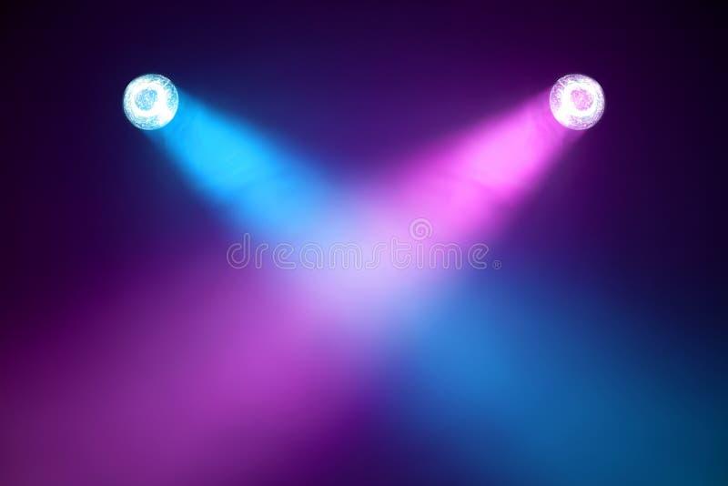 Luzes do disco fotografia de stock royalty free