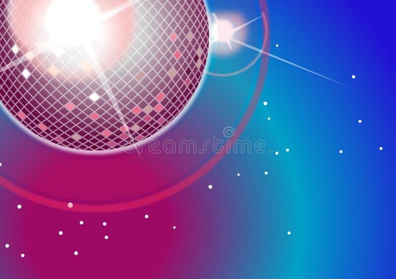 Luzes do disco ilustração do vetor