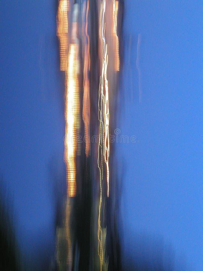 Luzes do lançamento fotografia de stock