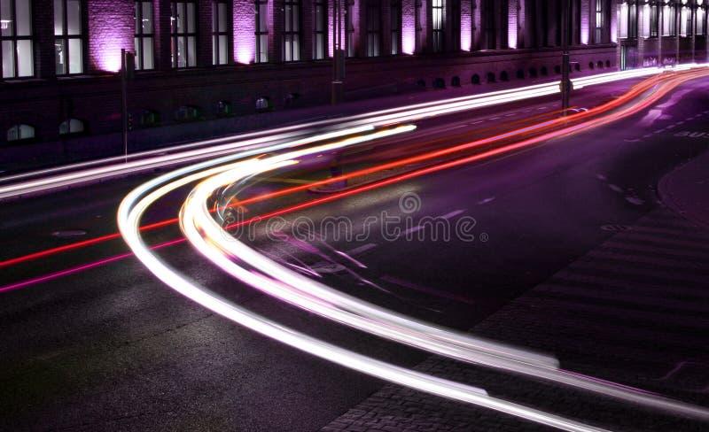 Luzes do tráfego foto de stock royalty free