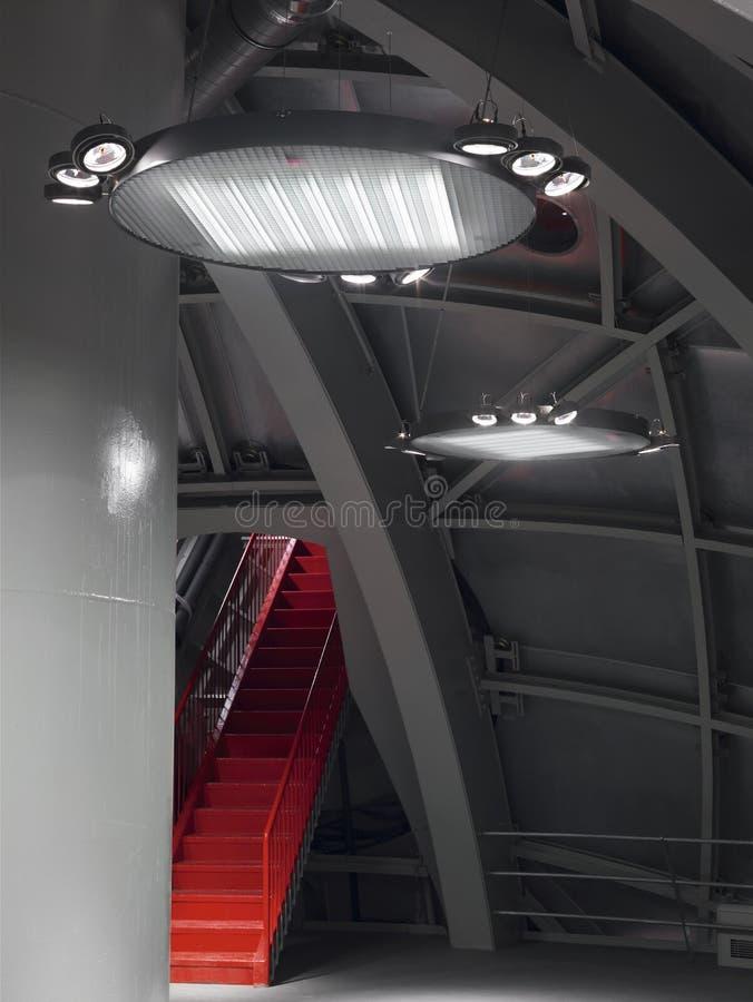 Luzes industriais imagem de stock