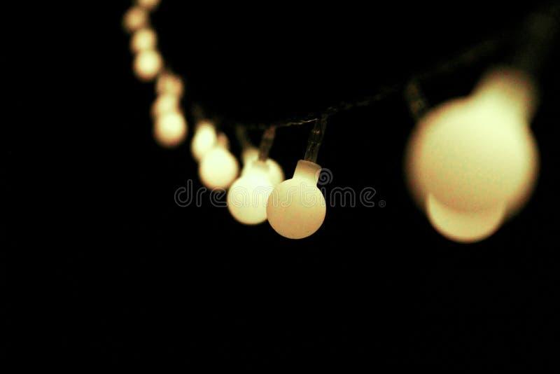 Luzes na obscuridade fotos de stock