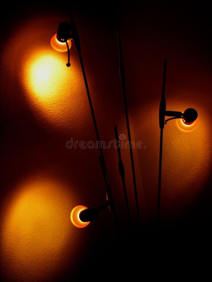 Download Luzes na sombra imagem de stock. Imagem de sombra, energia - 100223