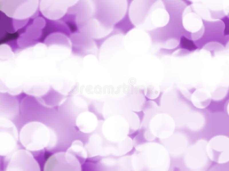 Luzes roxas abstratas do fundo fotos de stock royalty free