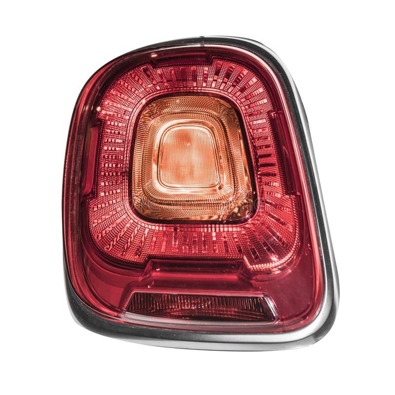 Luzes traseiras do carro fotografia de stock