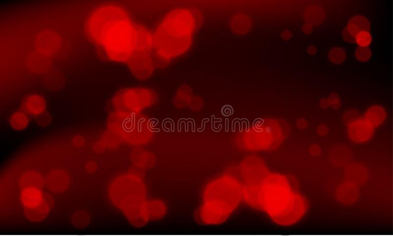 Download Luzes Vermelhas Abstratas - Fundo Do Vetor Ilustração do Vetor - Ilustração de esferas, macio: 12812697