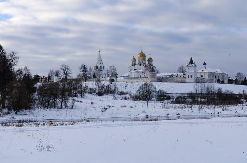 Luzhetsky Kloster lizenzfreie stockfotos