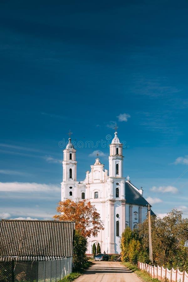 Luzhki, región de Vitebsk, Bielorrusia Iglesia de St Michael Archangel foto de archivo libre de regalías