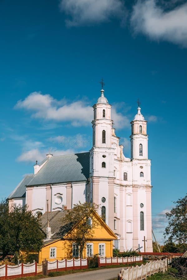 Luzhki, región de Vitebsk, Bielorrusia Iglesia de St Michael Archangel imagen de archivo libre de regalías