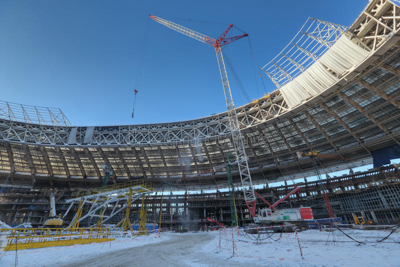 Luzhniki体育场 免版税库存照片