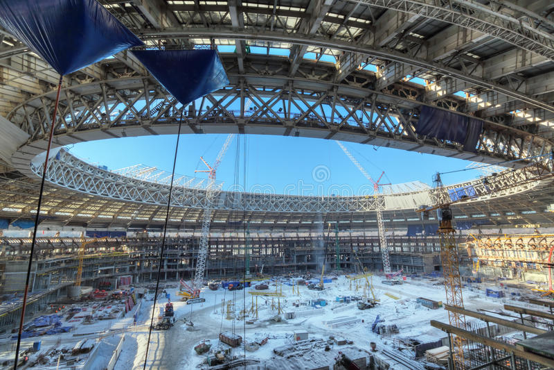 Luzhniki体育场 免版税库存图片
