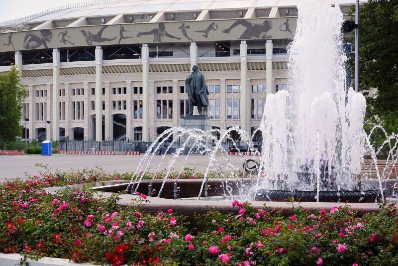 Стадион Luzhniki в Москве стоковое изображение rf
