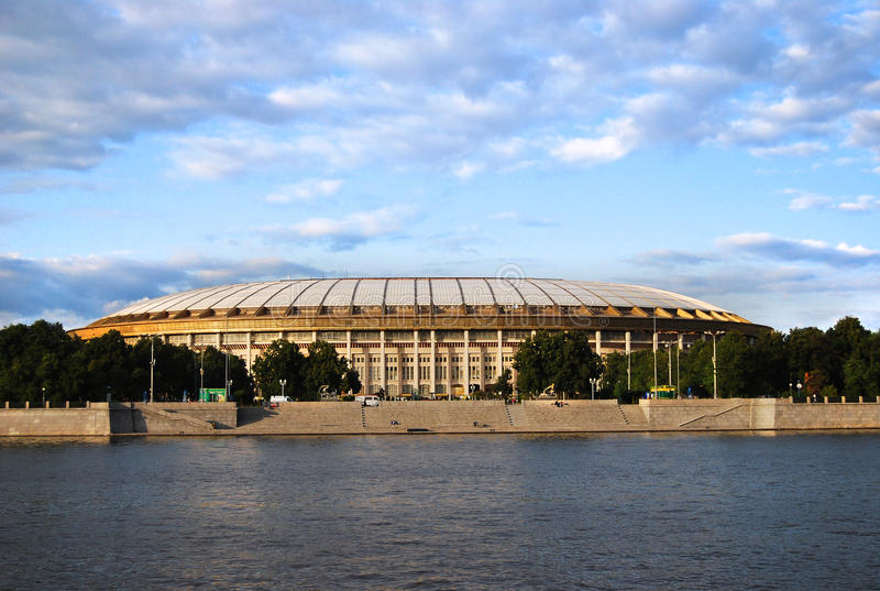 Download Luzhniki Olympic Complex stock image. Image of ussr, sports - 22805809