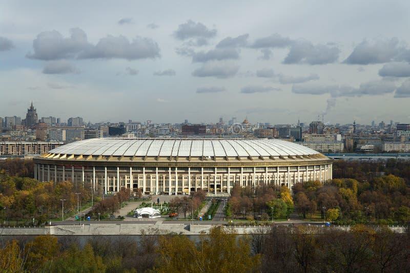 Download Luzhniki Stadium, Moscow stock photo. Image of city, forest - 25482318