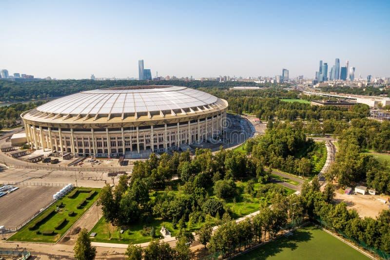 Luzhniki stadium w Moskwa zdjęcie royalty free