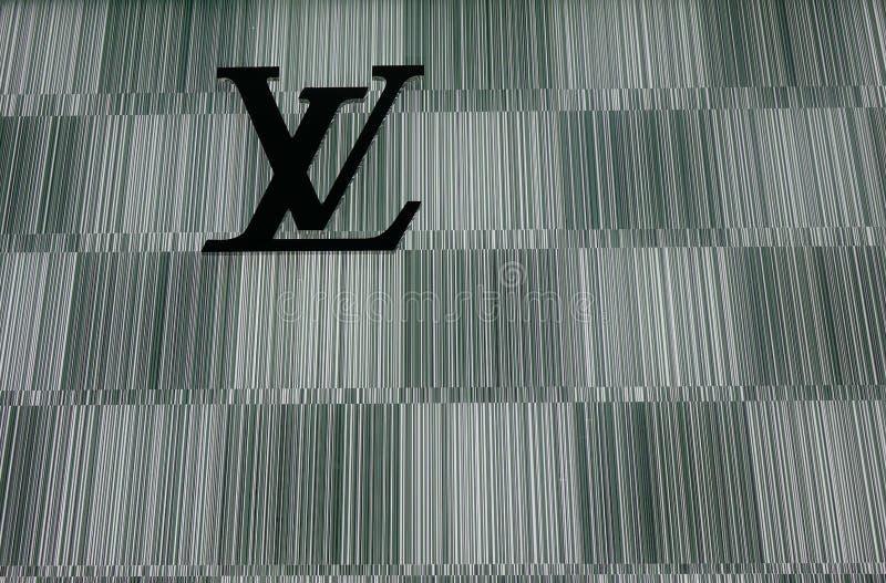 Lv-Speicher am Einkaufszentrum lizenzfreie stockfotos