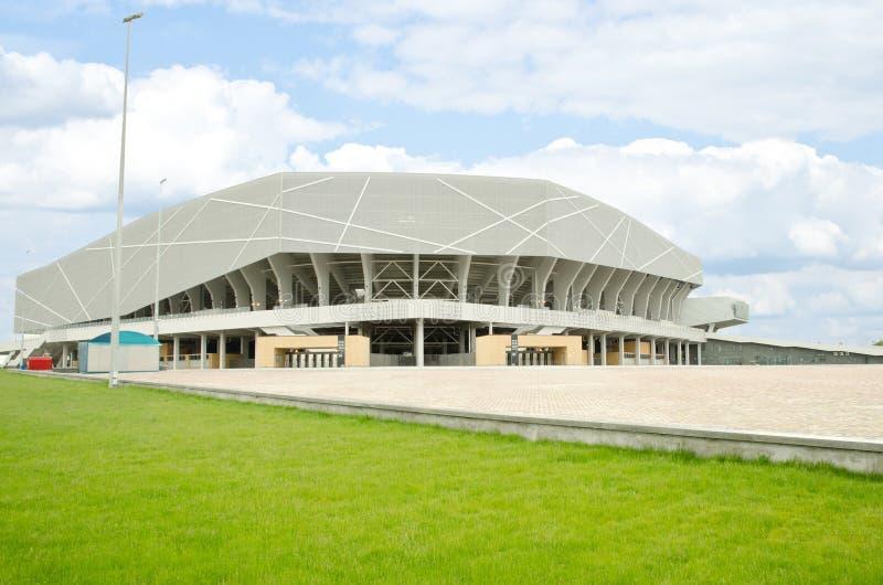 lviv体育场乌克兰 库存照片