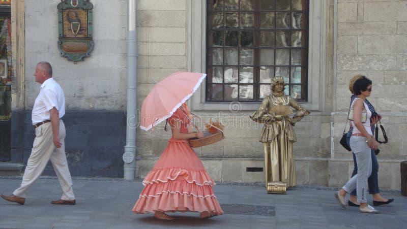 Lviv atmosfera zdjęcia royalty free