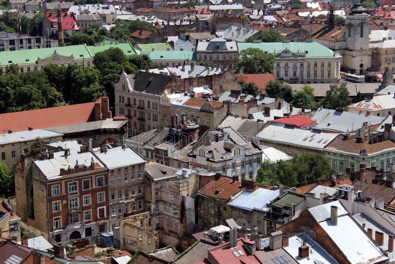 Lviv beau images libres de droits