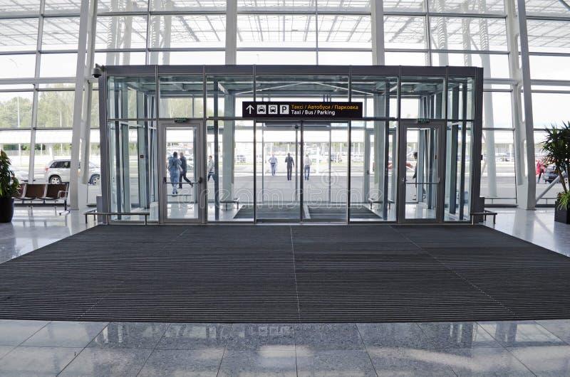 Download Lviv International Airport editorial stock image. Image of terminal - 25103839