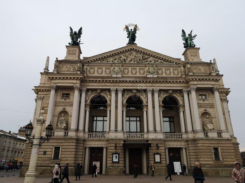 Lviv royaltyfria bilder