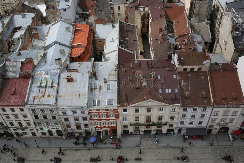Lviv, Ucrânia foto de stock royalty free