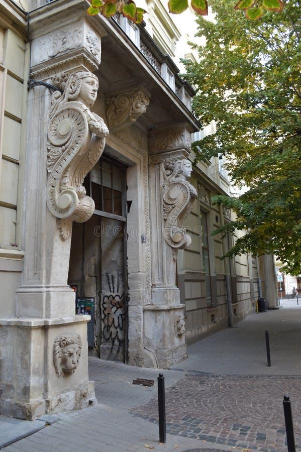 Lviv Ucrânia ocidental fotografia de stock royalty free