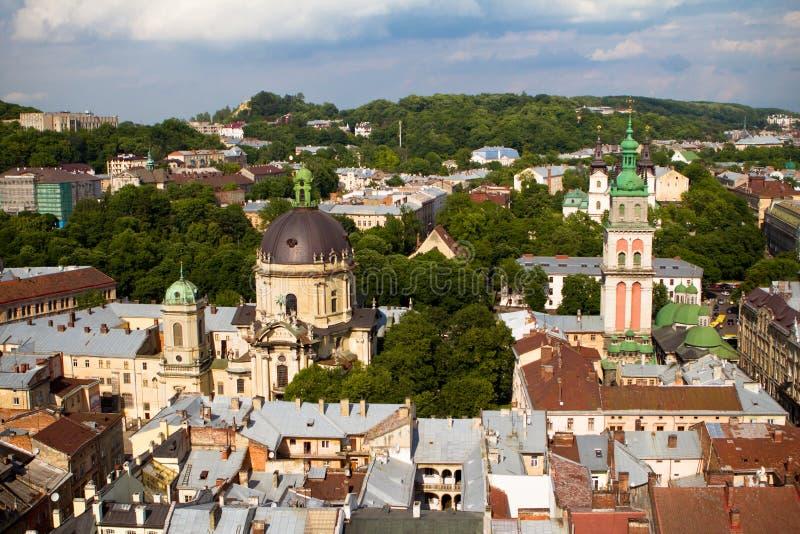 Lviv Ucraina fotografia stock