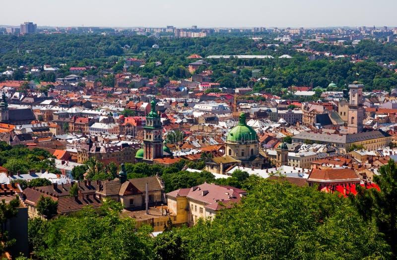 Lviv Ukraine photos libres de droits