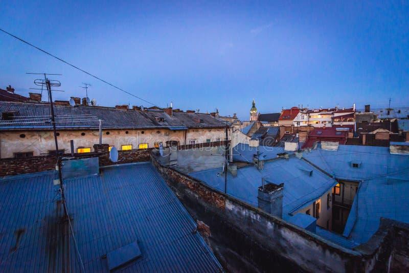 Lviv w Ukraina zdjęcia royalty free