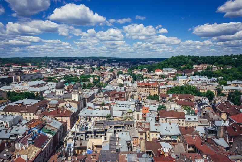 Lviv w Ukraina fotografia stock