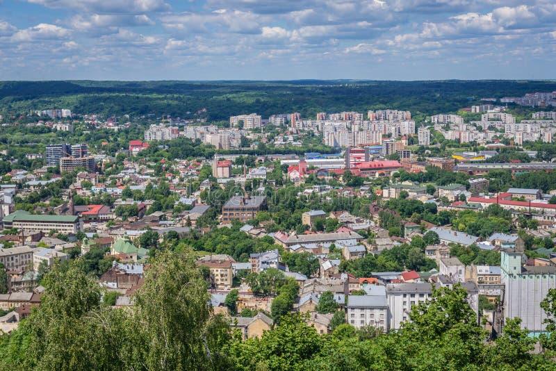 Lviv w Ukraina obraz stock