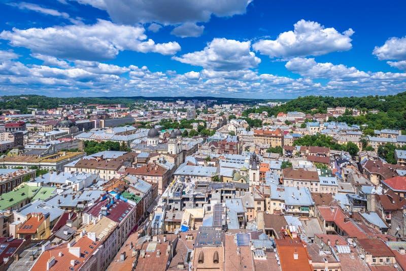 Lviv w Ukraina zdjęcia stock