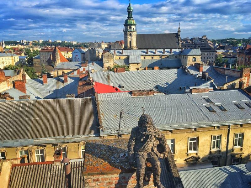 Lviv w Ukraina fotografia royalty free