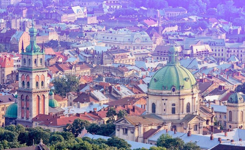 Lviv w Zachodnim Ukraina zdjęcia royalty free
