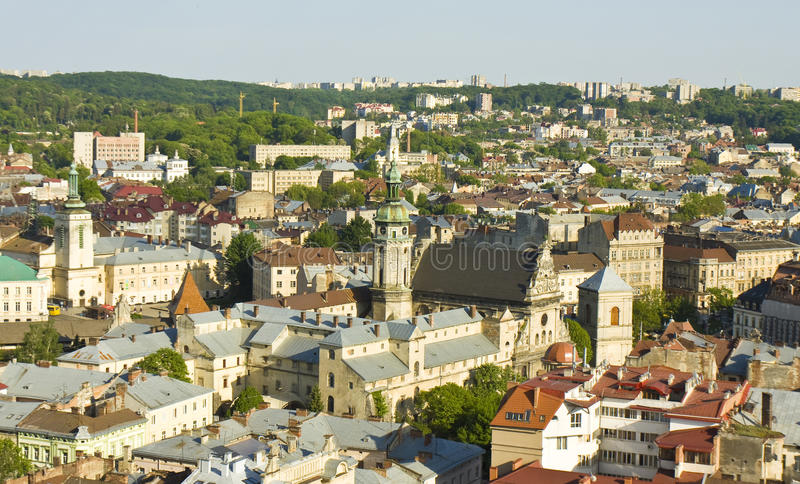 Lvov, Ουκρανία στοκ φωτογραφία