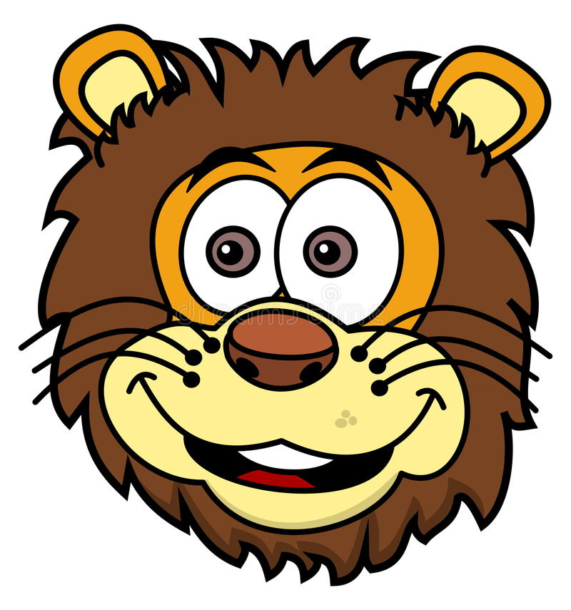 Download Lwa Kierowniczy Ono Uśmiecha Się Ilustracji - Ilustracja złożonej z koci, pojedynczy: 57662705