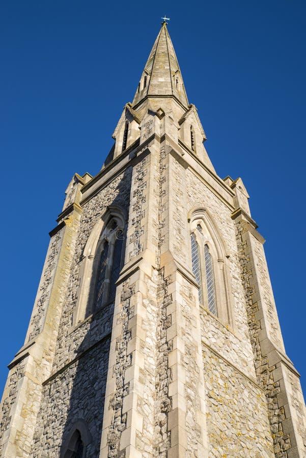 Lwa spacer Jednoczący Reformowany kościół w Colchester zdjęcie stock